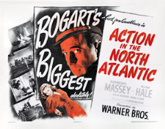 Action in the North Atlantic 1943 DVD - Humphrey Bogart / Raymond Massey